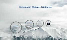 Copy of Relaciones y Misiones Trinitarias