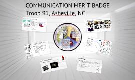 Copy of Communication Merit Badge
