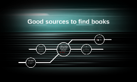 Good sources to find books