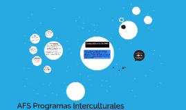 AFS Programas Interculturales