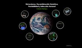 Mutaciones, Recombinación Genética, Variabilidad y Selección Natural