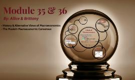 Module 35 & 36
