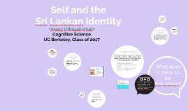 Copy of Self and the Sri Lankan Identity