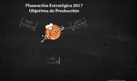 Planeación Estratégica 2017