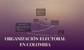 ORGANIZACION ELECTORAL EN COLOMBIA