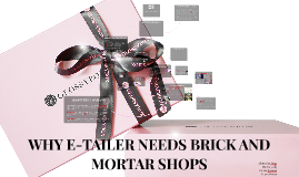 WHY E-TAILER NEEDS BRICK AND MORTAR SHOPS // GLOSSYBOX