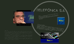 TELEFÓNICA S.A.