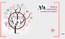 Copy of Modelo de comportamiento de compra de los negocios