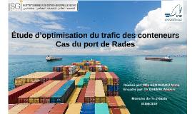 Copie de Étude d'optimisation du trafic des conteneurs