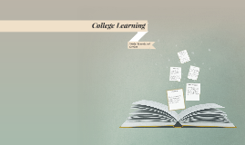 Copy of College Learning