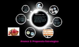 Avance 3: Propuesta Estrategica
