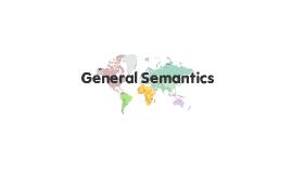 General Semantics