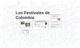 Los Festivales y Gran Eventos de Colombia