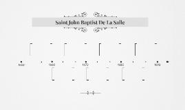 Saint John Baptist De La Salle