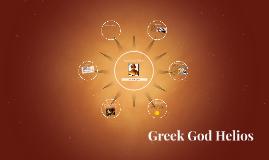 Greek God Helios