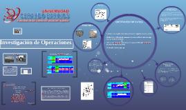 Copy of Investigacion de Operaciones