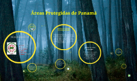 Copy of Areas Protegidas de Panamá