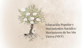 Educación Popular y Movimientos Sociales: Movimiento de los