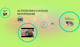 actividad colegio montessori