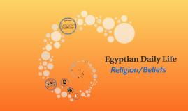 Egyptian Daily Life