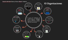 10 Organizaciones