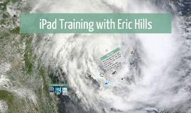 iPad Training - workshop week