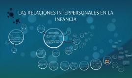 LAS RELACIONES INTERPERSONALES EN LA INFANCIA