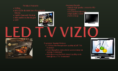 LED T.V VIZIO