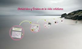 Copy of Anhídridos y Óxidos en la vida cotidiana