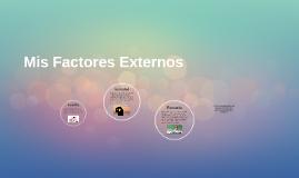 Mis Factores Externos