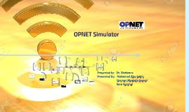 OPNET Simlator