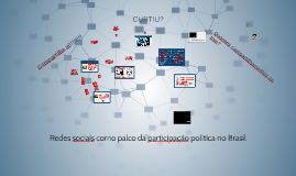 Copy of Redes sociais como palco da participação política no Brasil