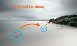 Perceptual Contsancy