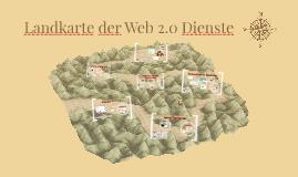 Landkarte der Web 2.0 Dienste