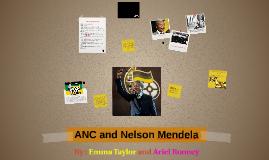 ANC and Nelson Mendela
