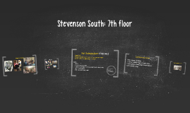 Stevenson South: 7th floor