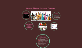 Cerveza, Malta y Licores en Colombia