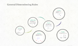 General Dimensioning Rules