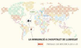 LA IMMIGRACIÓ A L'HOSPITALET DE LLOBREGAT