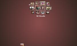 Copy of Mi Mundo