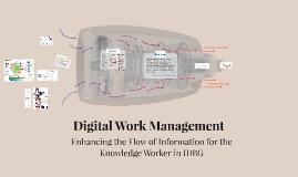 Digital Work Management
