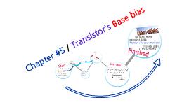 제5장-트랜지스터의 베이스 바이어스