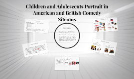 Children and Adolescents Portray in American and British Comedy Sitcoms