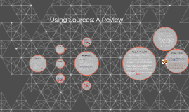 Using Sources: A Review