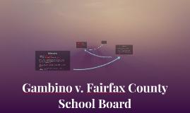 Gambino v. Fairfax County School Board
