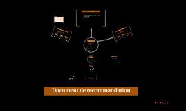 Copie de Document de recommandation