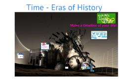 Time (Common Era & Era's)