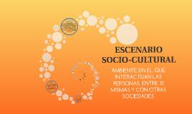 ESCENARIO SOCIO-CULTURAL
