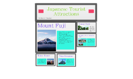 Japanese Tourist Attractions