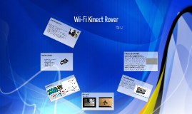 WiFi Kinect Rover